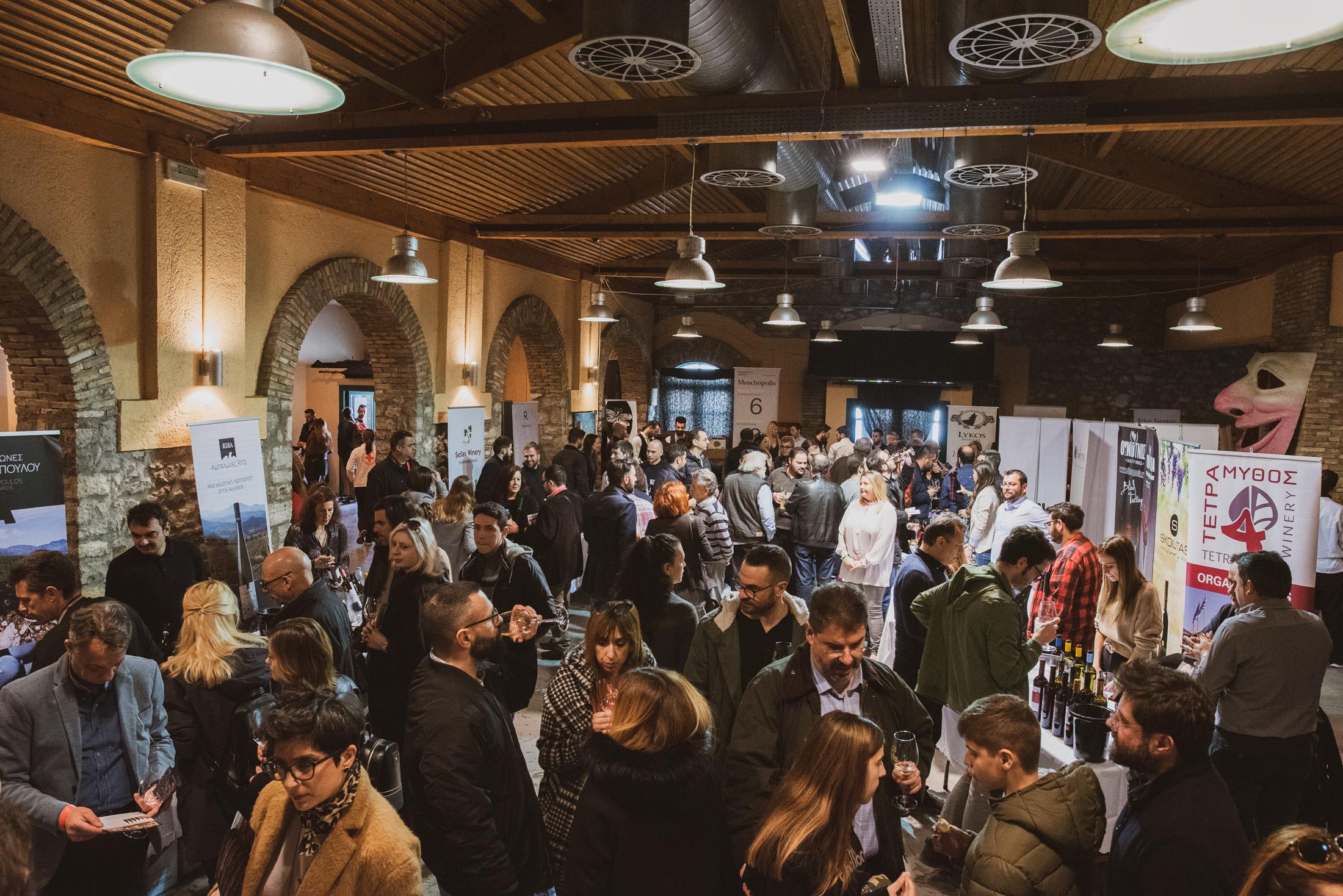 1500 επισκέπτες δοκίμασαν τα κρασιά της Ελλάδας στο Patras Wine Fair