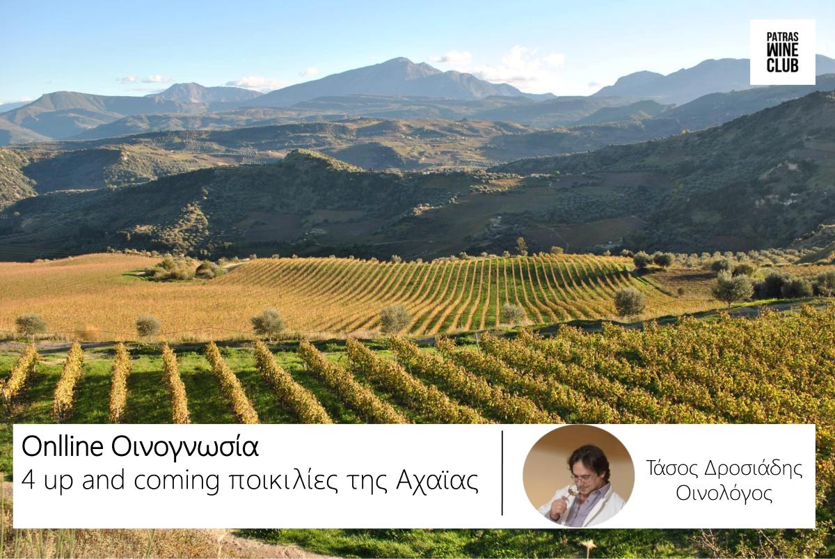 Online Οινογνωσία: 4 up-and-coming ποικιλίες της Αχαϊας